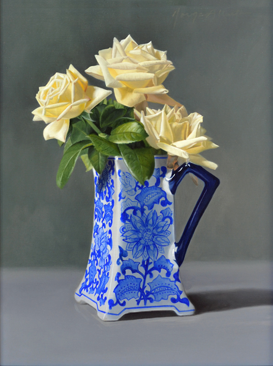 The Blue and White Vase 10 x 8 - oil on panel 72dpi_edited-2